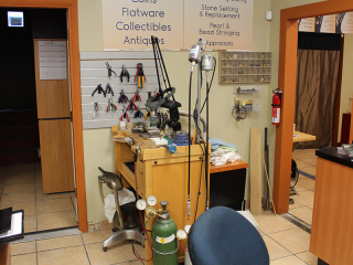 Our Jeweler's Work Station